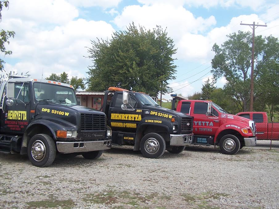 Towing in Henryetta, OK | I-40 Wrecker and Towing Service